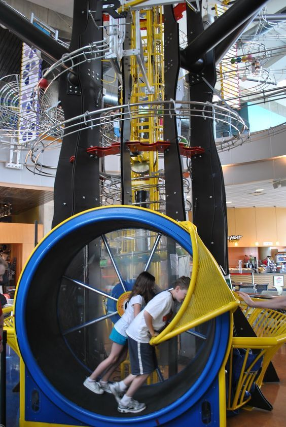 The Science Center is another great stop within Forest Park. This Free mostly museum has many interactive exhibits. It also features many paid exhibits if you choose. FYI the IMAX is not Free, but you knew that.: