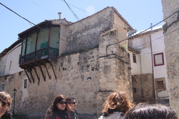 Entrada a Fuentidueña por la parte de la Puerta de Palacio