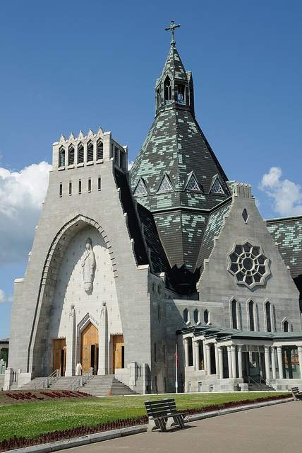 Basilica of Cap-de-la-Madeleine, Trois-Rivières, Quebec, Canada | by Saffron Blaze, via Flickr  http://en.wikipedia.org/wiki/Cap-de-la-Madeleine,_Quebec