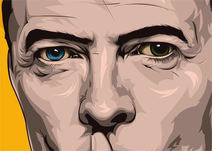 Echa un vistazo a mi proyecto @Behance: \u201cBowie Silence\u201d https://www.behance.net/gallery/53112453/Bowie-Silence