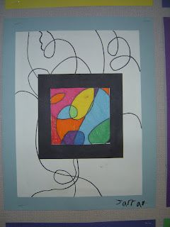 LOVE this frame idea. Kids can choose where to place their frame!