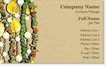 bead jewelry maker Premium Business Cards