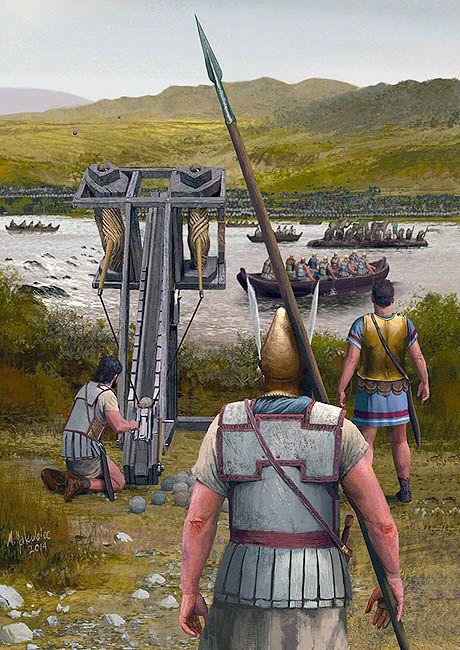 """Battle of Jaxartes, 329 BC"", by Milek Jakubiec."