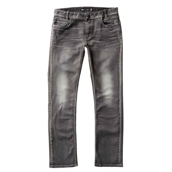 Just Jeans   Mens Stretch Straight Leg Denim in Vintage Grey   $79.99