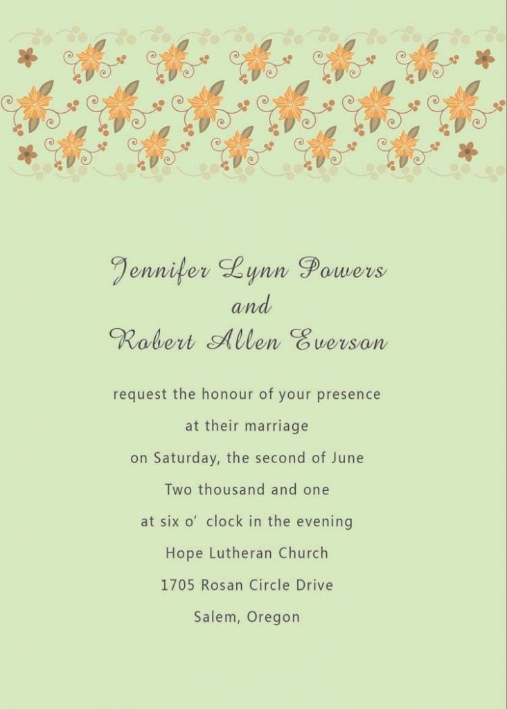 Post Wedding Reception Invitation Wording  Gala Invitation Wording