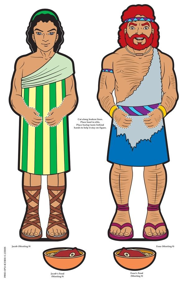 Jacob And Esau Bible Characters