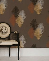 Corallo Charcoal with Copper, Silver, Gold and Black från Piero Fornasetti