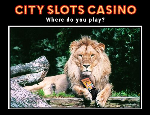 Where do you play City Slots? The best android slots game!  https://play.google.com/store/apps/details?id=com.wincity.ccslots_source=pinlion