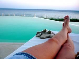 Fia bloggar om det lyckade besöket på Ocean Beach Club i Makrigialos, Kreta.