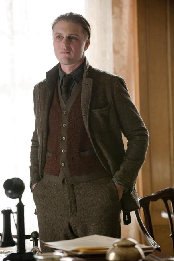 Michael Pitt as Jimmy Darmody  - Boardwalk Empire 1920s men's style