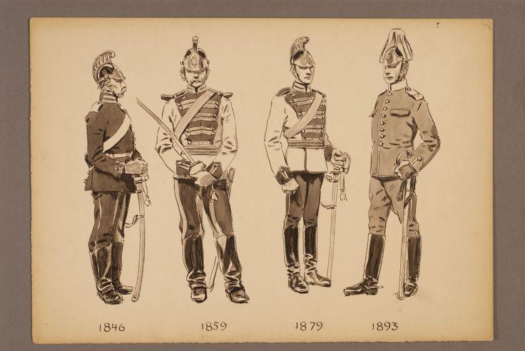 The Life regiment of dragoons 1846-1893 by Einar von Strokirch