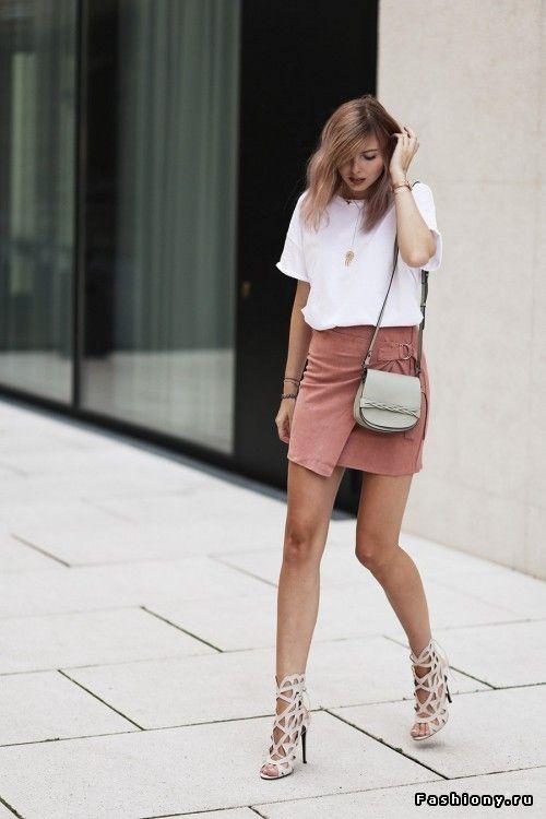 Такие разные замшевые юбки