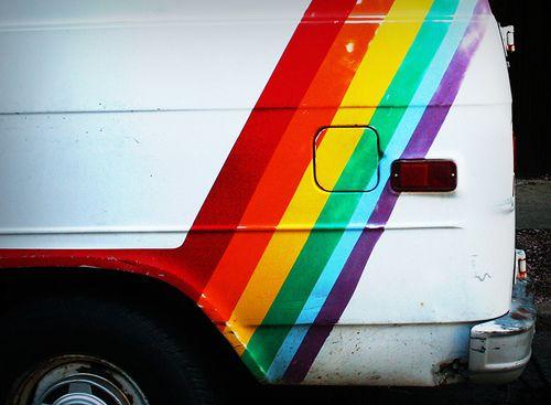 Rainbow Vans: 310 Best Chevy Van Images On Pinterest