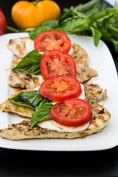 Want to enjoy a low-carb dinner? Make this simple caprese chicken, which marriesthe fresh flavors of a caprese salad with a dose of lean protein. Ripe tomatoes, tangy balsamic and fragrant basil are a yummy ways to dress up your lean chicken breast. Serve with a side of roasted broccoli.