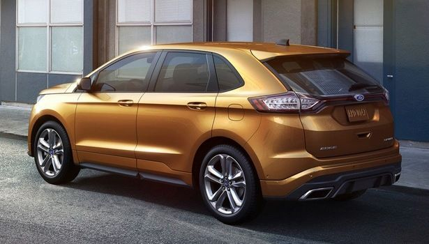 2016 Ford Edge - we like the liquid-gold look