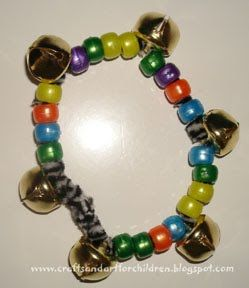 Jingle Bell Bracelet & other Christmas Bell crafts