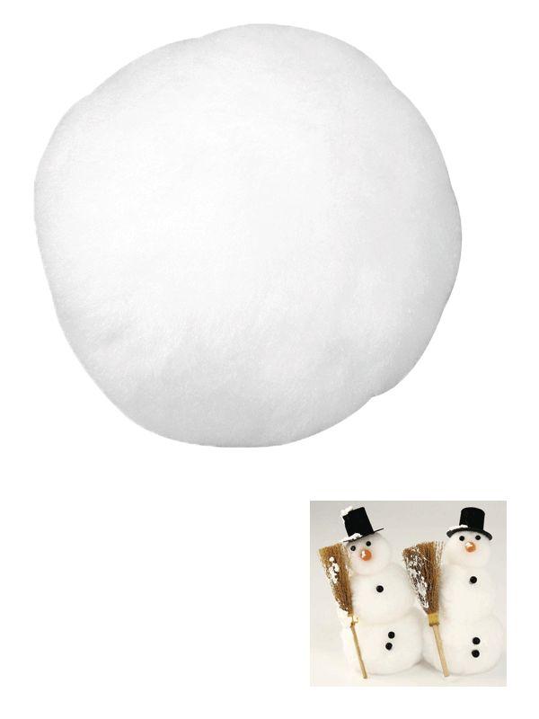 Decoratie sneeuw bestellen bij warenhuis Bellatio. Kunst sneeuwballen 7,5 cm, nu voor � 1.75, levering in 24 uur. Decoratie sneeuw, Meer hobbymateriaal,