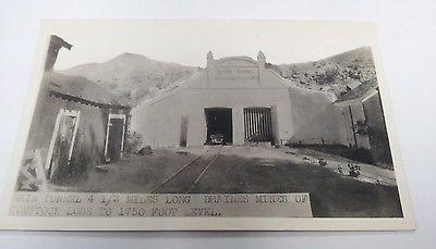 Rare-vintage-Comstock-Lode-main-Sutro-tunnel-real-photo-postcard