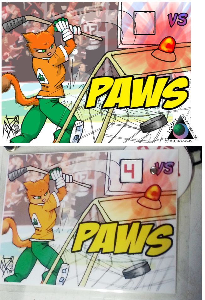 Paws – action badge