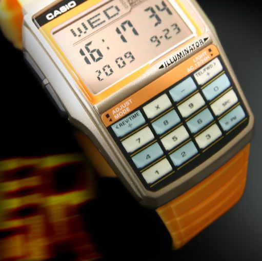 Casio Databank 2888JA LCD watch