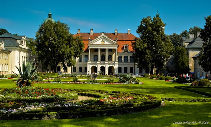 MELTING POT OF CULTURES / NA STYKU KULTUR: Zamoyski Palace in Kozłówka – Polish Pemberley / P...