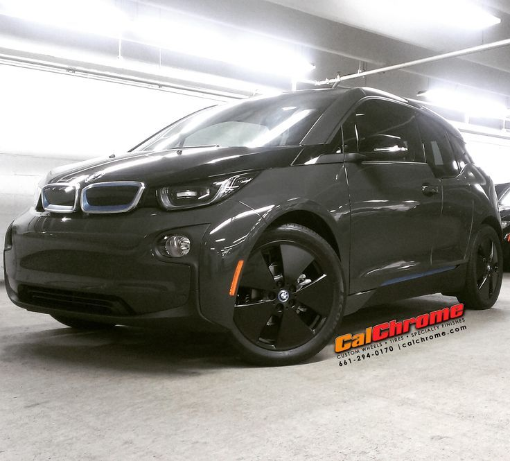 "Cool BMW: BMW i3 with 19"" Matte Black Fusion Powder Coated wheels #electriccar #bmwi3 #bet...  Fusion Powder Coat Wheels Check more at http://24car.top/2017/2017/07/09/bmw-bmw-i3-with-19-matte-black-fusion-powder-coated-wheels-electriccar-bmwi3-bet-fusion-powder-coat-wheels/"