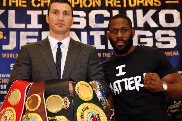 """""""Kommt endlich mal jemand, der es mit Wladimir Klitschko aufnehmen kann? Klitschko meint jedenfalls, er sei der unangenehmste Boxer auf diesem Planeten."""""""