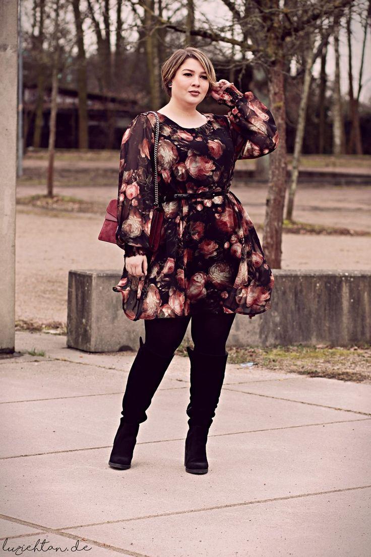 Plus Size Outfit Inspiration für den Herbst
