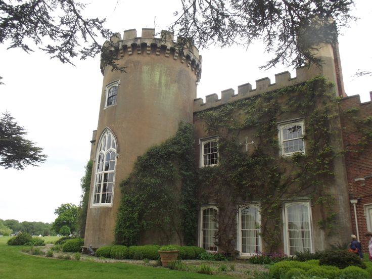 Lots of lovely windows at Knepp Castle, West Grinstead, nr Horsham, West Sussex, England.