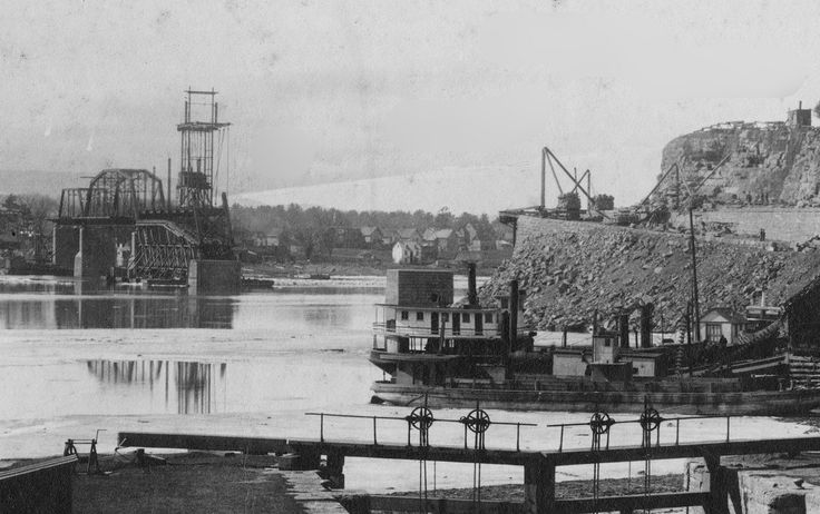 Construction of the Alexandra Bridge, which opened in 1901 | by Ross Dunn - 9 MILlION+ VIEWS!