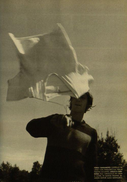 l'uomo vogue mark borthwick 1996