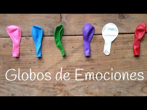 Globos de las emociones | Juegos educativos para niños - YouTube