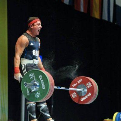 Sonny Webster - Weightlifting.