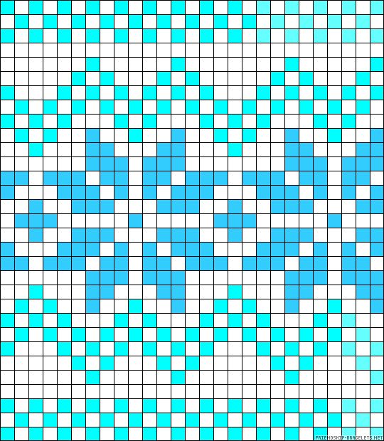 Norwegian perler bead pattern