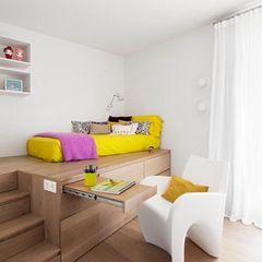 ideas for bed & desk ( the bed can be intergrated with study desk )