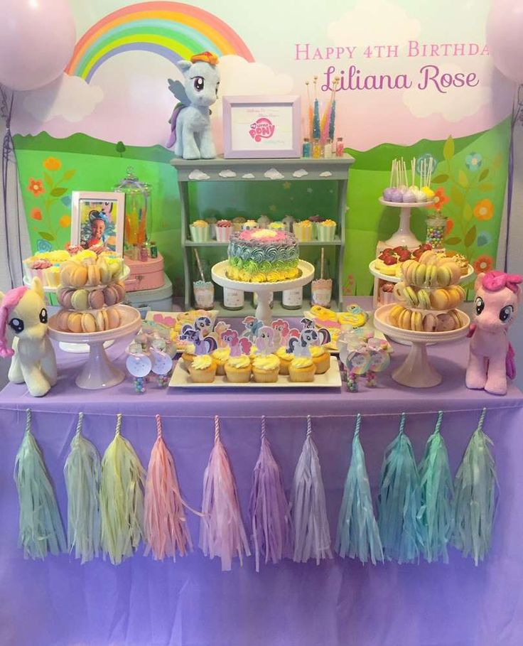 Incredible My Little Pony Birthday Party! See More Party Ideas At  CatchMyParty.com! Part 33