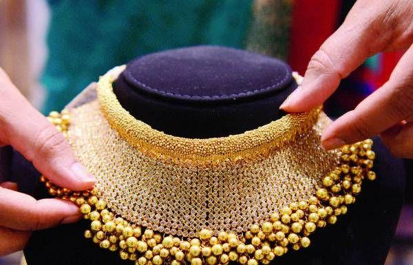 latest gold jewellery designs tanishq - Google Search
