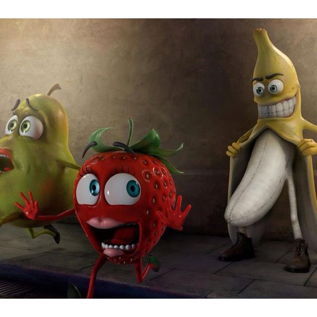 Banana and strawberry funny joke | humor me