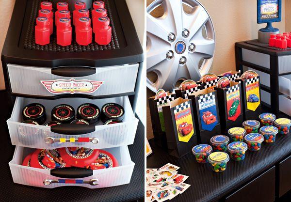 Partty - Fiestas temáticas y decoración para fiestas: Fiesta Cars Disney - Ideas y descargas gratis