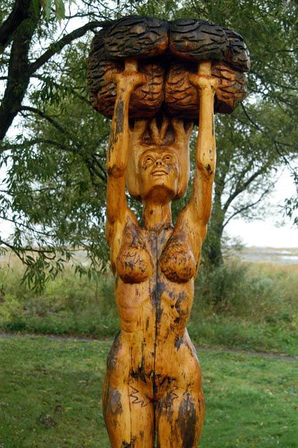 Images about st jean port joli carvings on pinterest