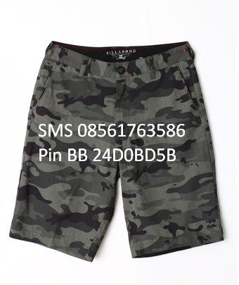 [New Arrival] CELANA PENDEK BILLABONG ORIGINAL Kode CPV BILLABONG 2 Size 28,29 only @280RB