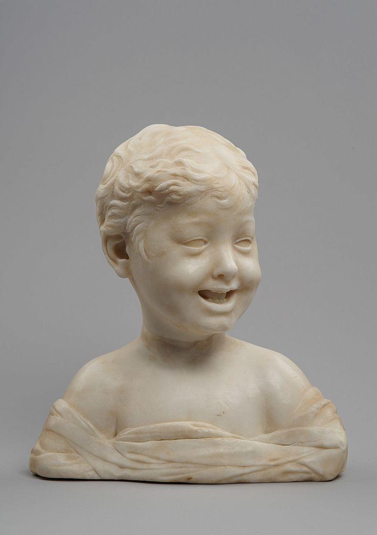 RAGAZZO DI RISATA; BUSTO  a 1460-1464  Artista: Desiderio da Settignano um 1460…