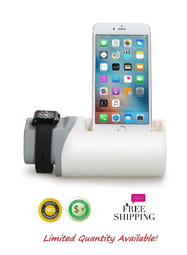 Apple Watch Stand and iPhone Charging Station Stand Dock Holder for iPhone 6 6S #AppleWatchStandandiPhoneChargingStation