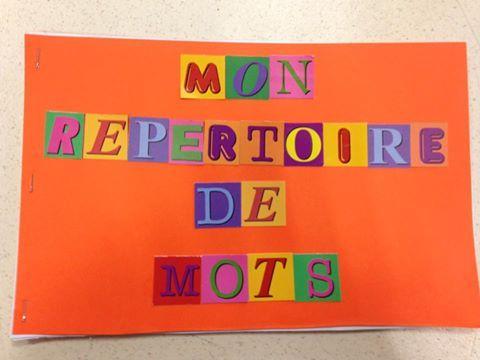 Répertoire de mots - Astuces d'une instit en maternelle