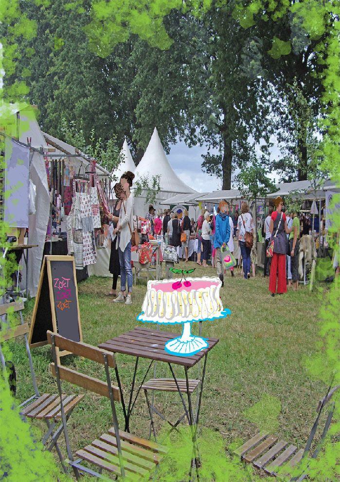 Festival der Zoete Verleidingen: augustus 2013 Sleen (Drenthe)