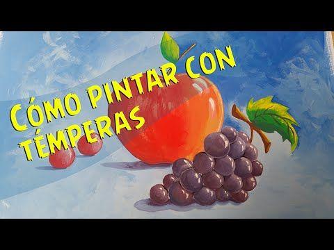 Download video: Cómo Pintar con Temperas Paso a Paso - Para compartir con los peques :)