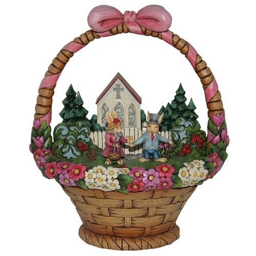 15 best jim shore easter baskets i own images on pinterest easter bless this day easter diorama figurine jim shore store negle Image collections