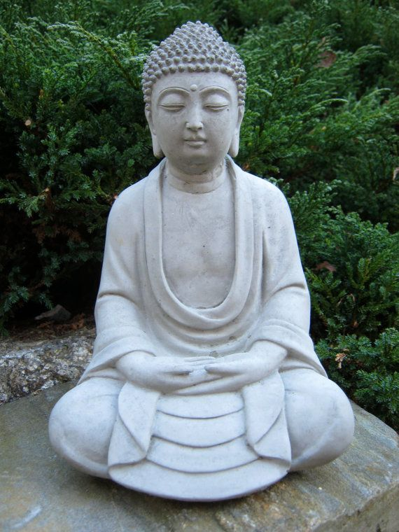 17 best ideas about concrete statues on pinterest for Outdoor buddha