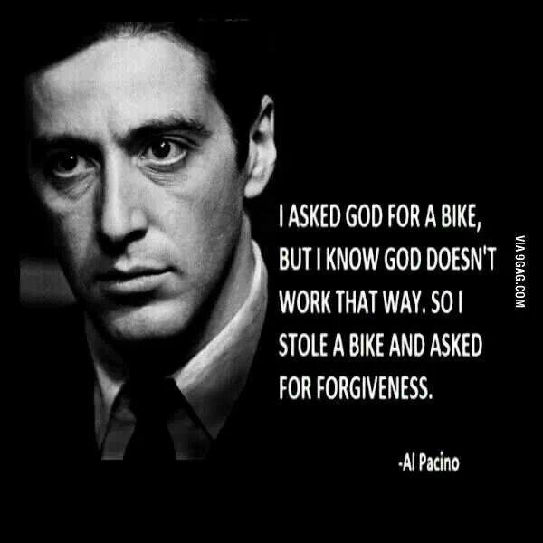Al pacino says...