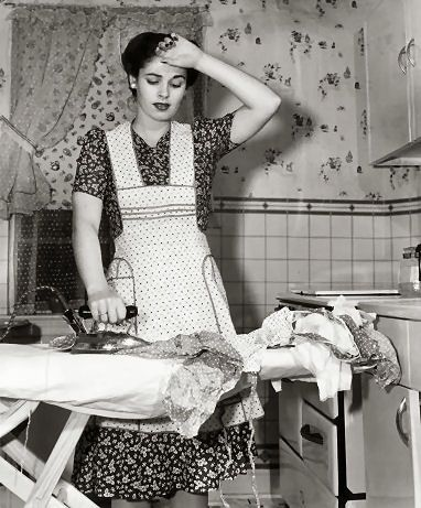 She ironed for so many people